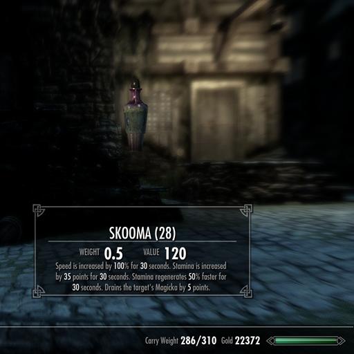 Skooma - Oblivion Style画像