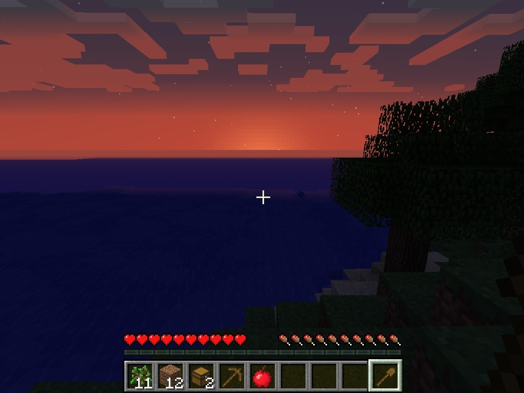 Steam Community Screenshot Minecraft Sunset