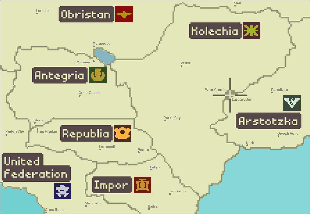 Steam Community Paper Please World Map - World map please