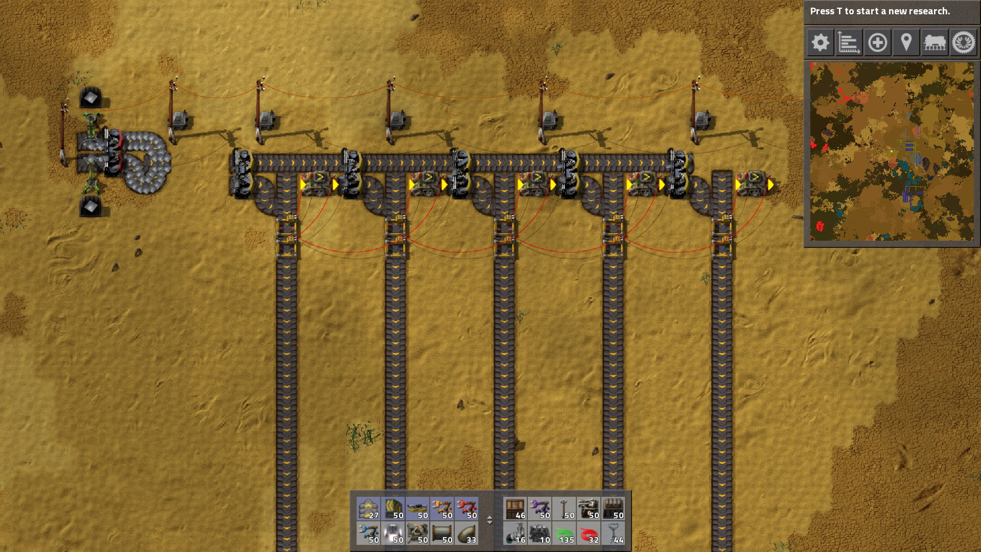 I Did My Best To Make This Design As Cheap As Possible, So That It Can Be  Used Right Away In The Early Game Of A Factorio Playthrough.