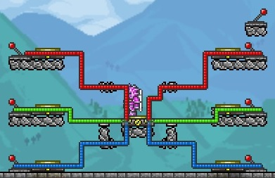 Steam Community Guide Introduction To Terraria Wiring What happens when player stands on teleporter 3 and activates the switch? introduction to terraria wiring