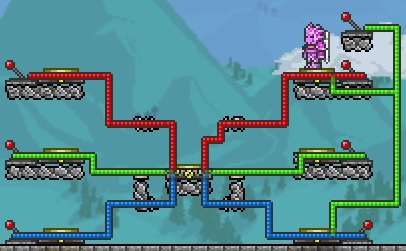 steam community guide introduction to terraria wiring rh steamcommunity com Terraria Wire Creations Terraria Circuits