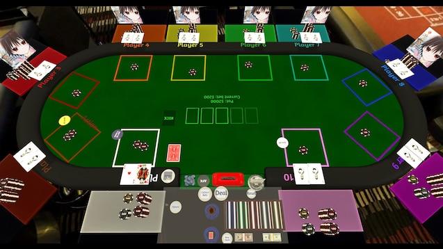 poker table overlay