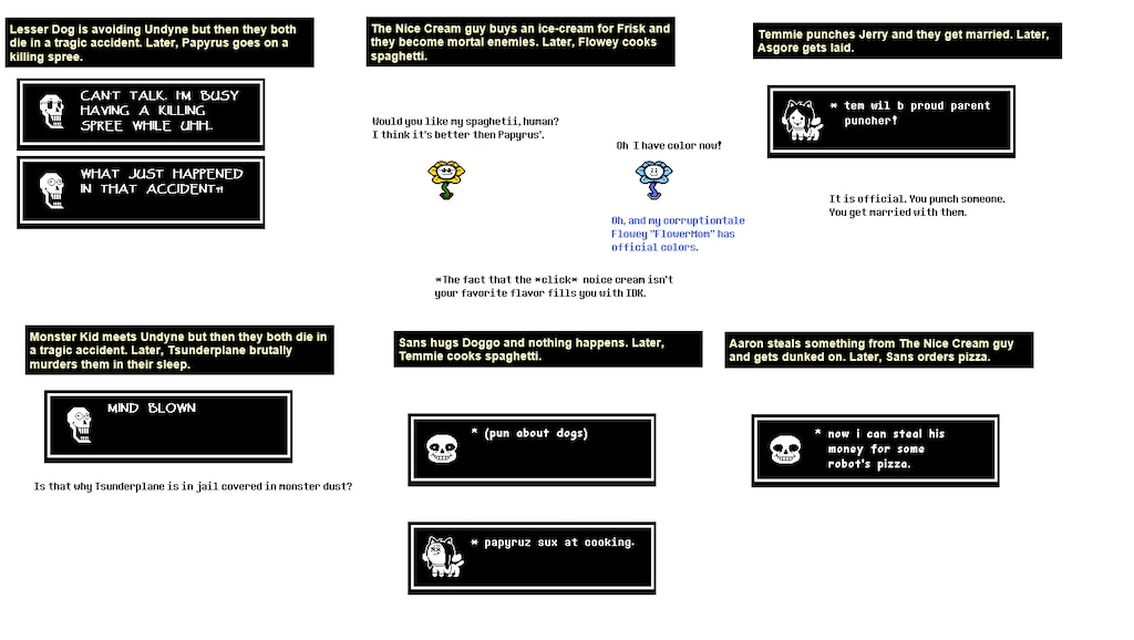 Steam Community :: :: Undertale Fanfiction Generator: The reason why