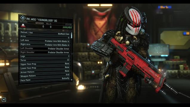 Steam Workshop :: Predator Outfits v2