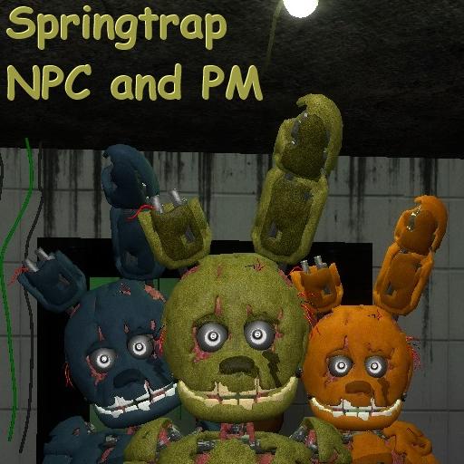 Fnaf 3 | Springtrap | NPC + Playermodel