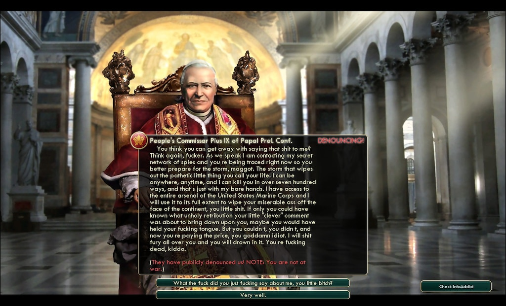Steam Community :: Screenshot :: God save the navy seals copypasta