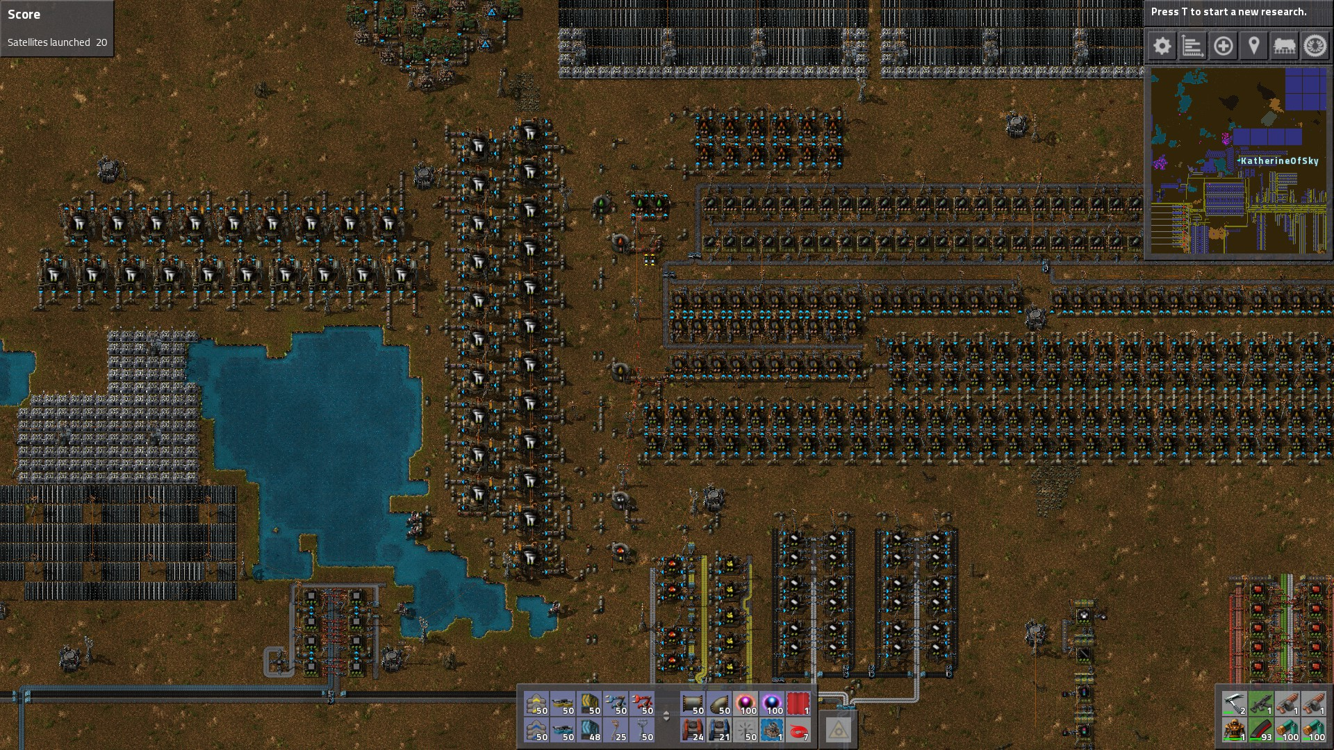 Oil Refinery In End Game. Always Budget LOTS Of Space!!