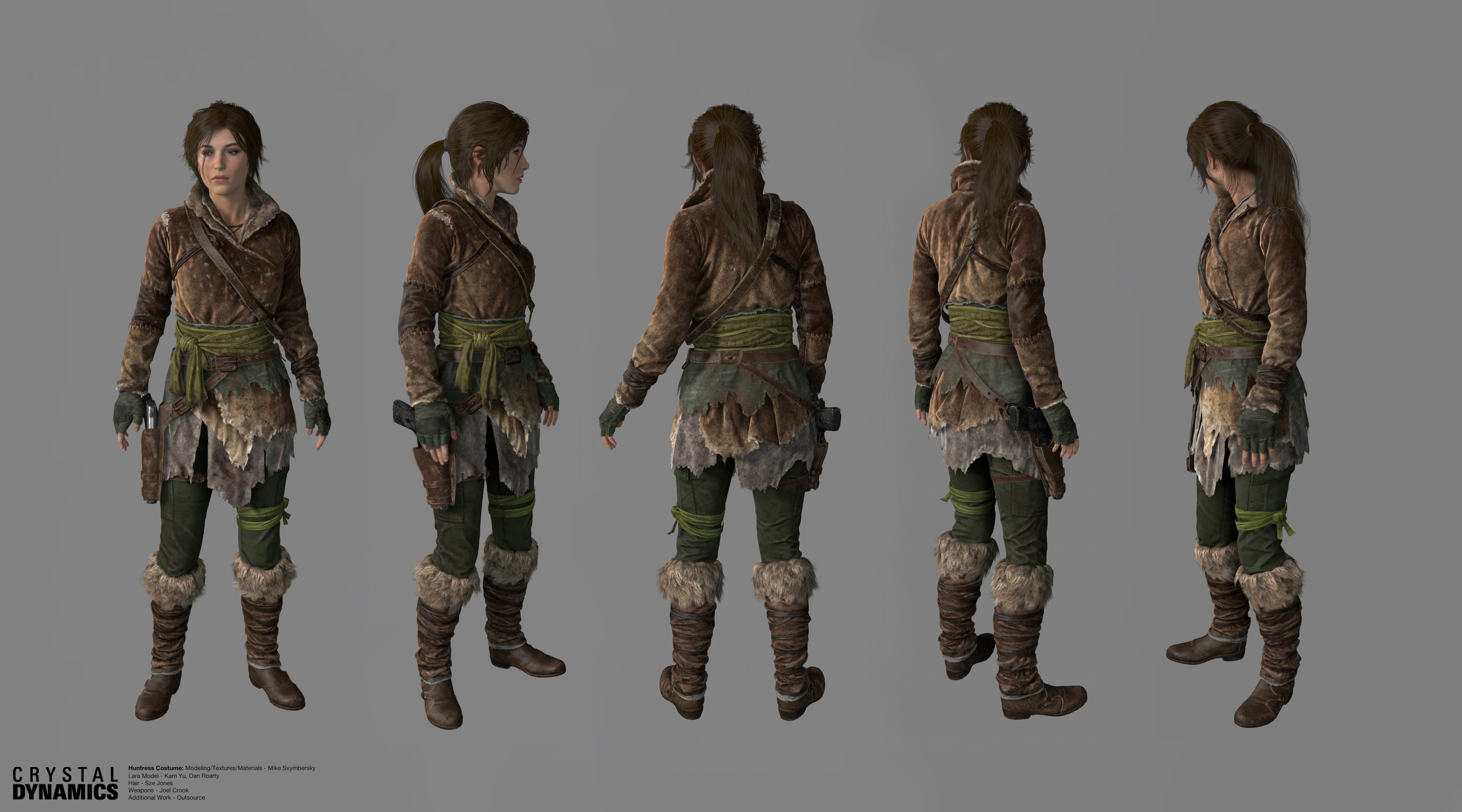 Tomb raider anniversary modding costumes texturing discussion
