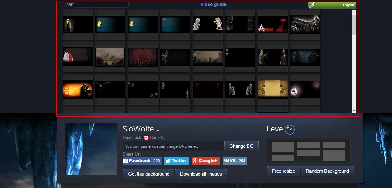 26+ Steam Custom Profile Background  Gif
