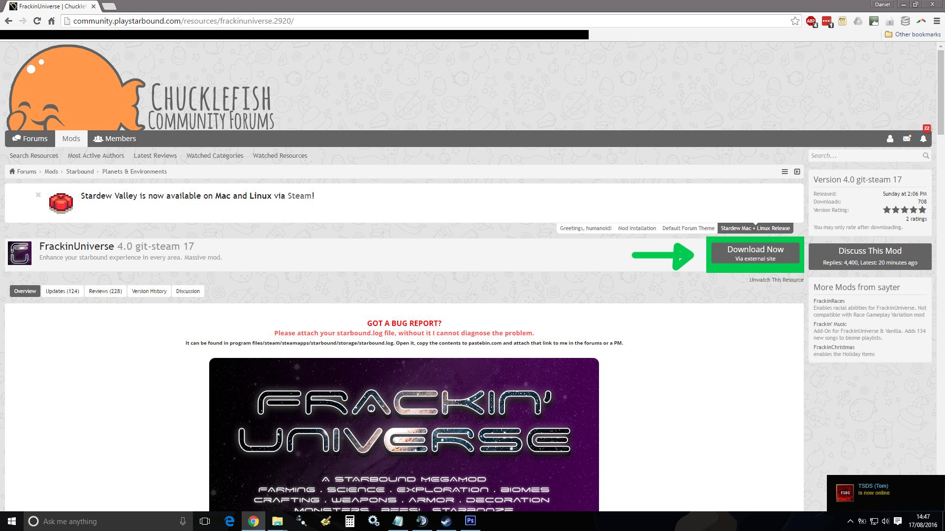 Steam Community :: Guide :: Frackin Universe: Dedicated