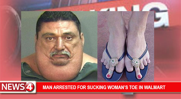 Men who like to suck toes