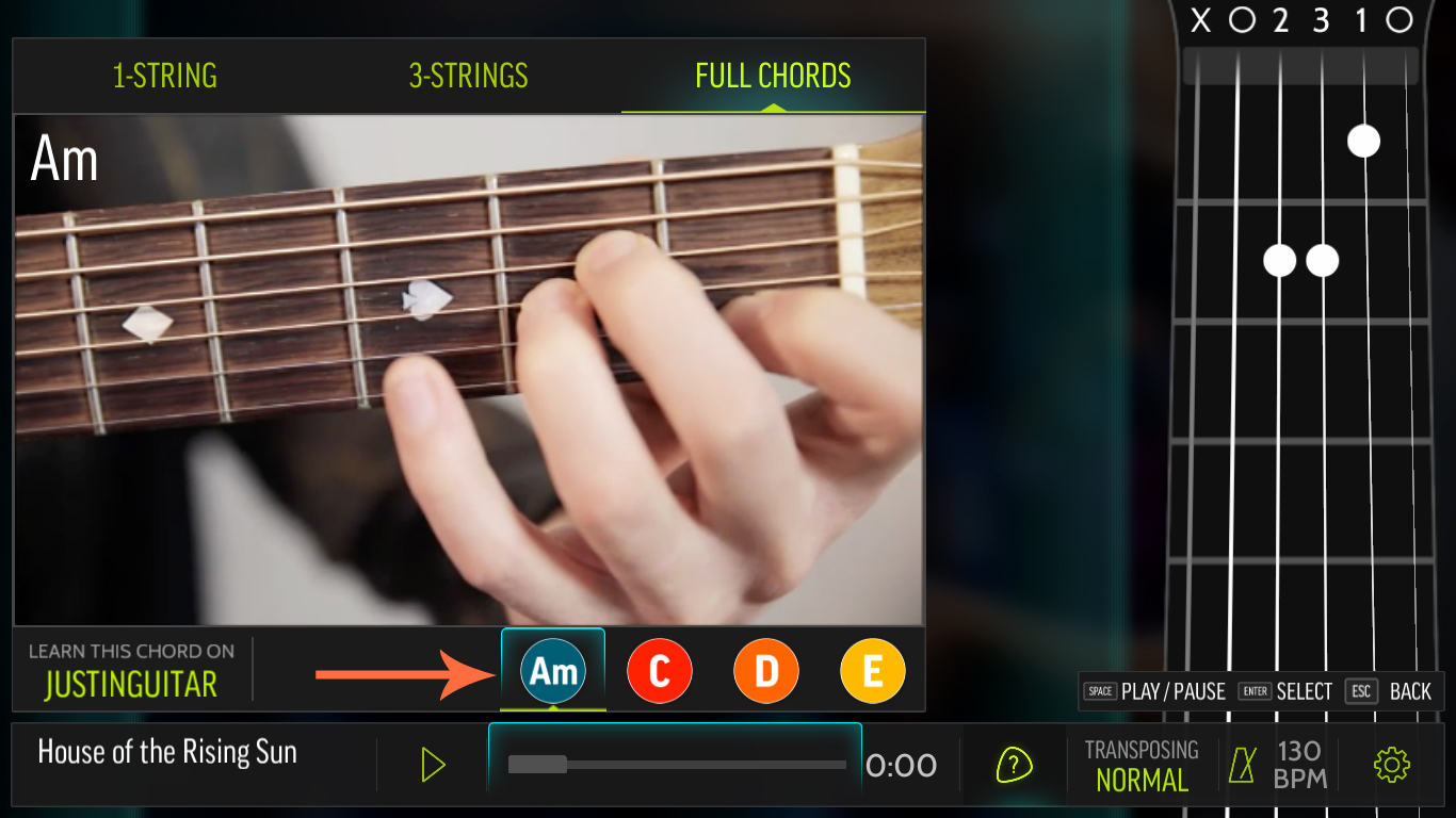 Steam community guide step by step guide for your first now for the sake of this guide lets proceed with using full chords to play our very first song as you can see our example song has only four different hexwebz Image collections