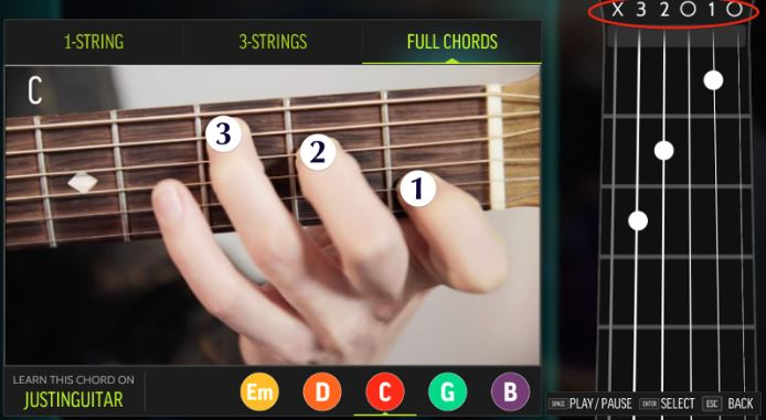 Steam Community :: Guide :: How to Read Chord Charts