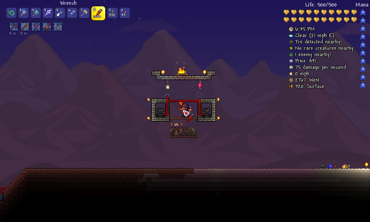Steam Easy Moon Lord Arena Terraria Wiring Heart Statue Bewitching Table For Summoner Class Sharpening Station Warrior Cristal Ball Mage Ammo Box Ranger Gunman
