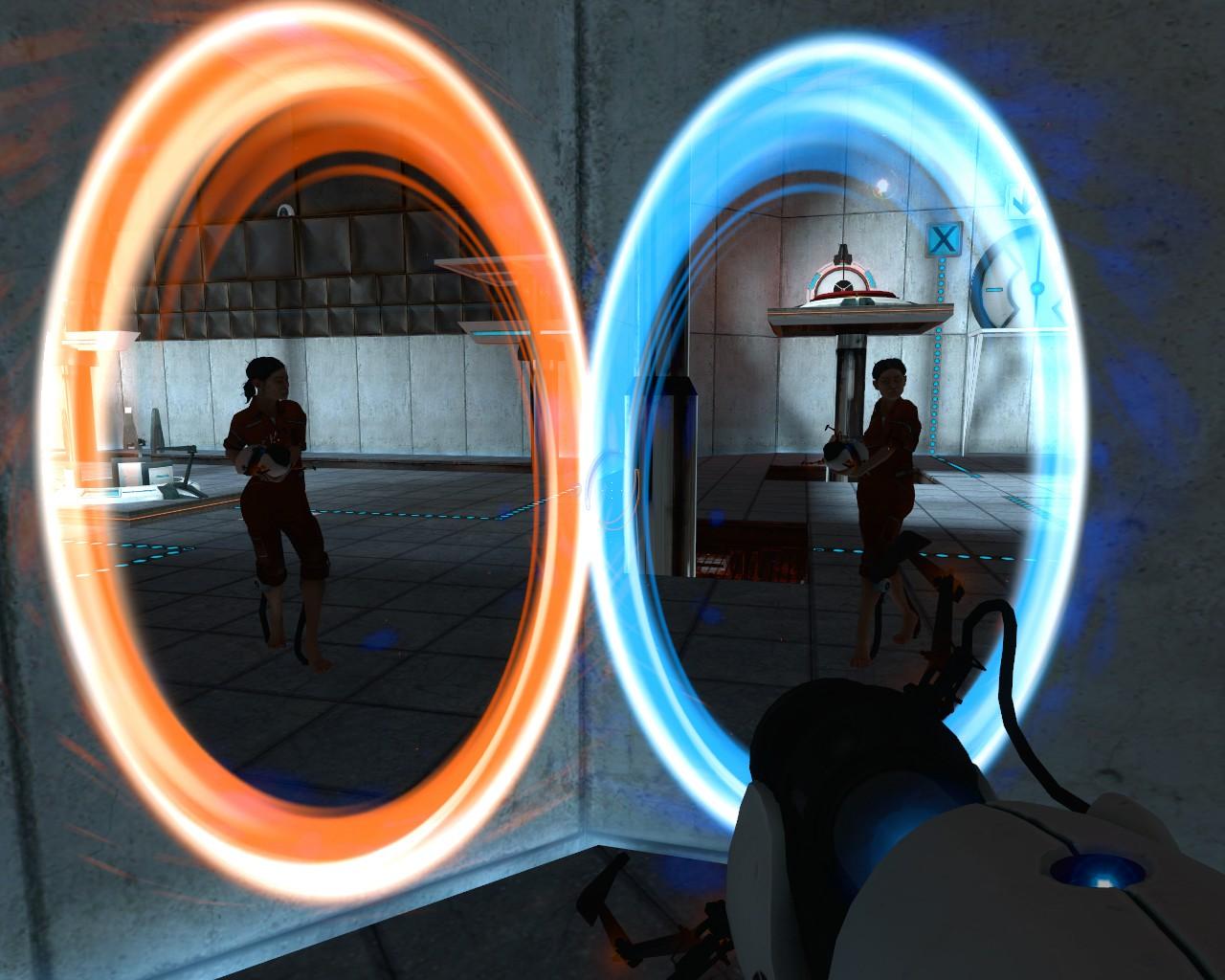 Steam Community :: Guide :: Portal - Swirl Portals / Trailer Portals