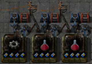 Then The Requester Chests For The Red Science Packs Should Request Copper  Plates And Iron Gear Wheels. Note That You Need A Roboport With Some  Logistics ...