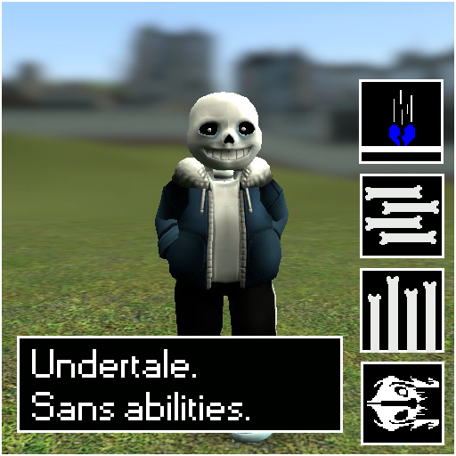 Undertale Sans abilities.