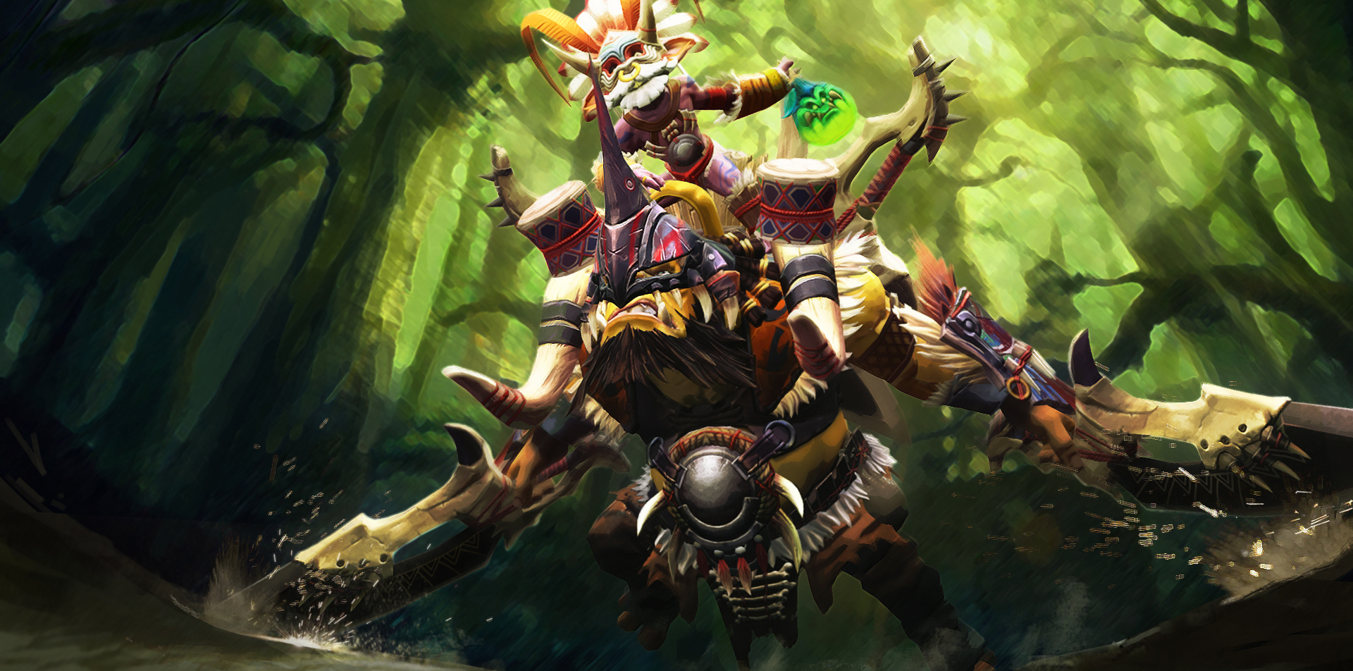 Steam Workshop::Alchemist-Jungle Chief Dota 2 how to play alchemist