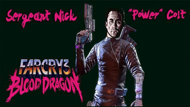 Steam Workshop Sergeant Nick Power Colt Far Cry 3 Blood