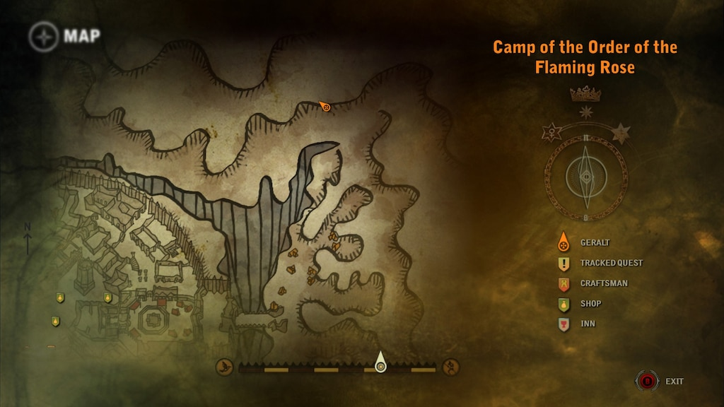 Steam Community Screenshot Map Of Crown Witness Forest Area Entrance