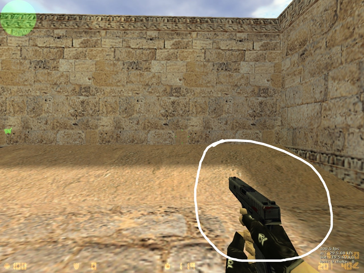 how to get small crosshair in cs go