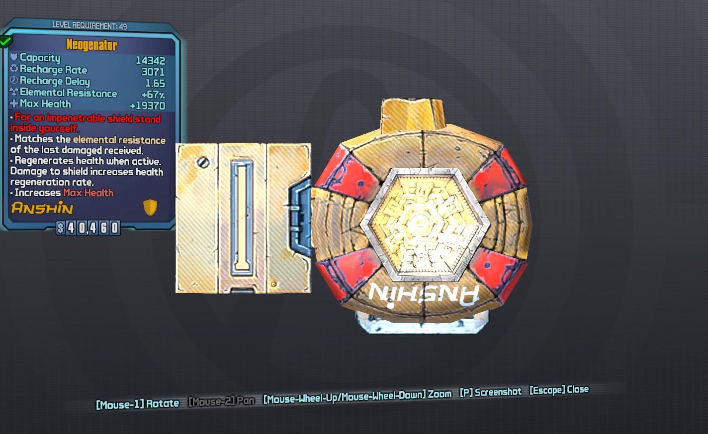 Steam Community :: Guide :: Borderlands 2 Legendary Shields