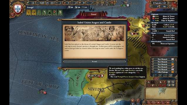 Eu4 Iberian Wedding.Steam Workshop Iberian Game Of Thrones