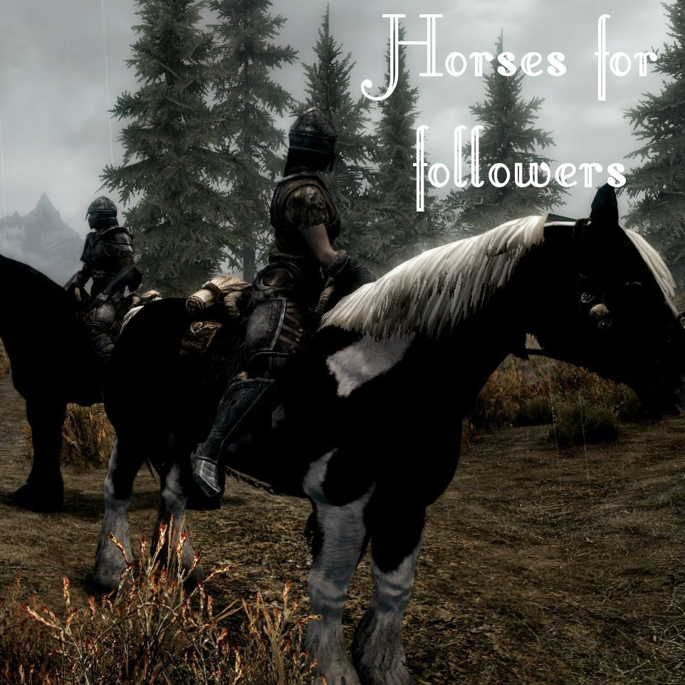 Steam Workshop :: Horses for Followers