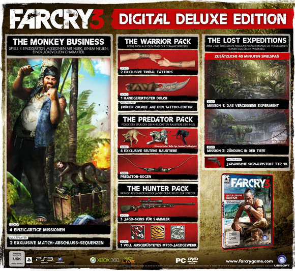 Steam Community :: Guide :: FARCRY 3 DELUXE DLC SEE IF YOU