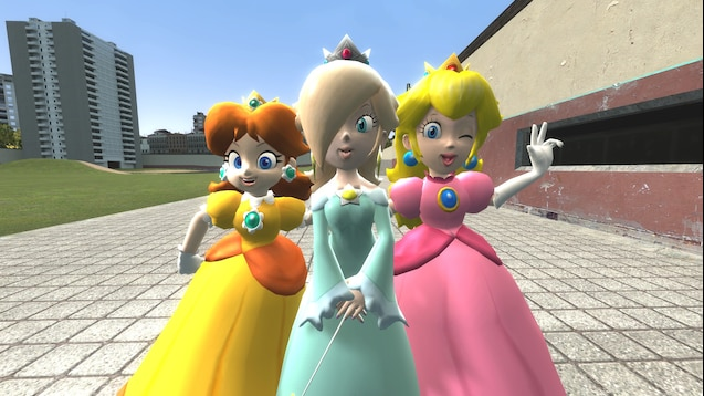 Steam Workshop :: Super Mario Princesses Ragdolls (Outdated)