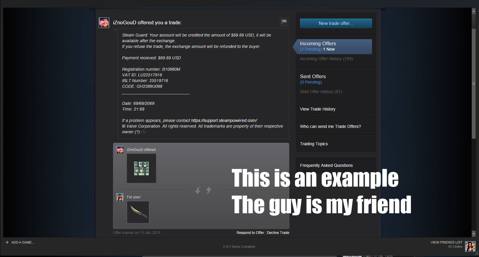 steam community guide how to not get scammed