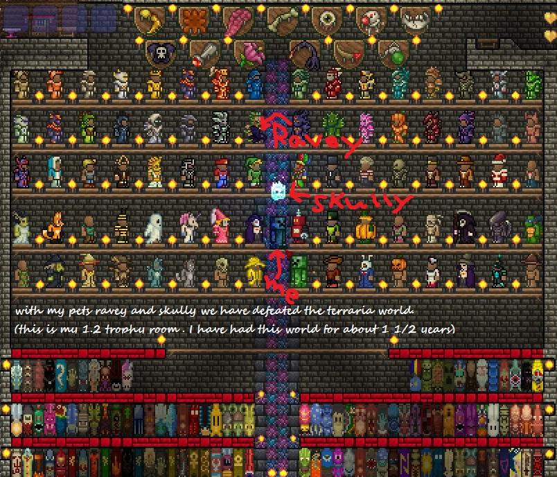 Steam Community :: Screenshot :: My World's Trophy Room As