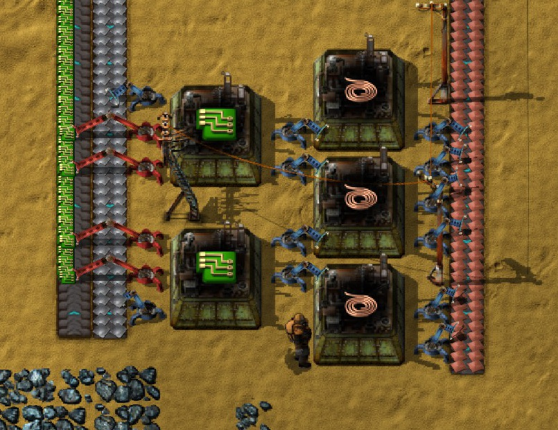 steam community guide factorio observations, tips, tricksgreen circuits leaf vein design
