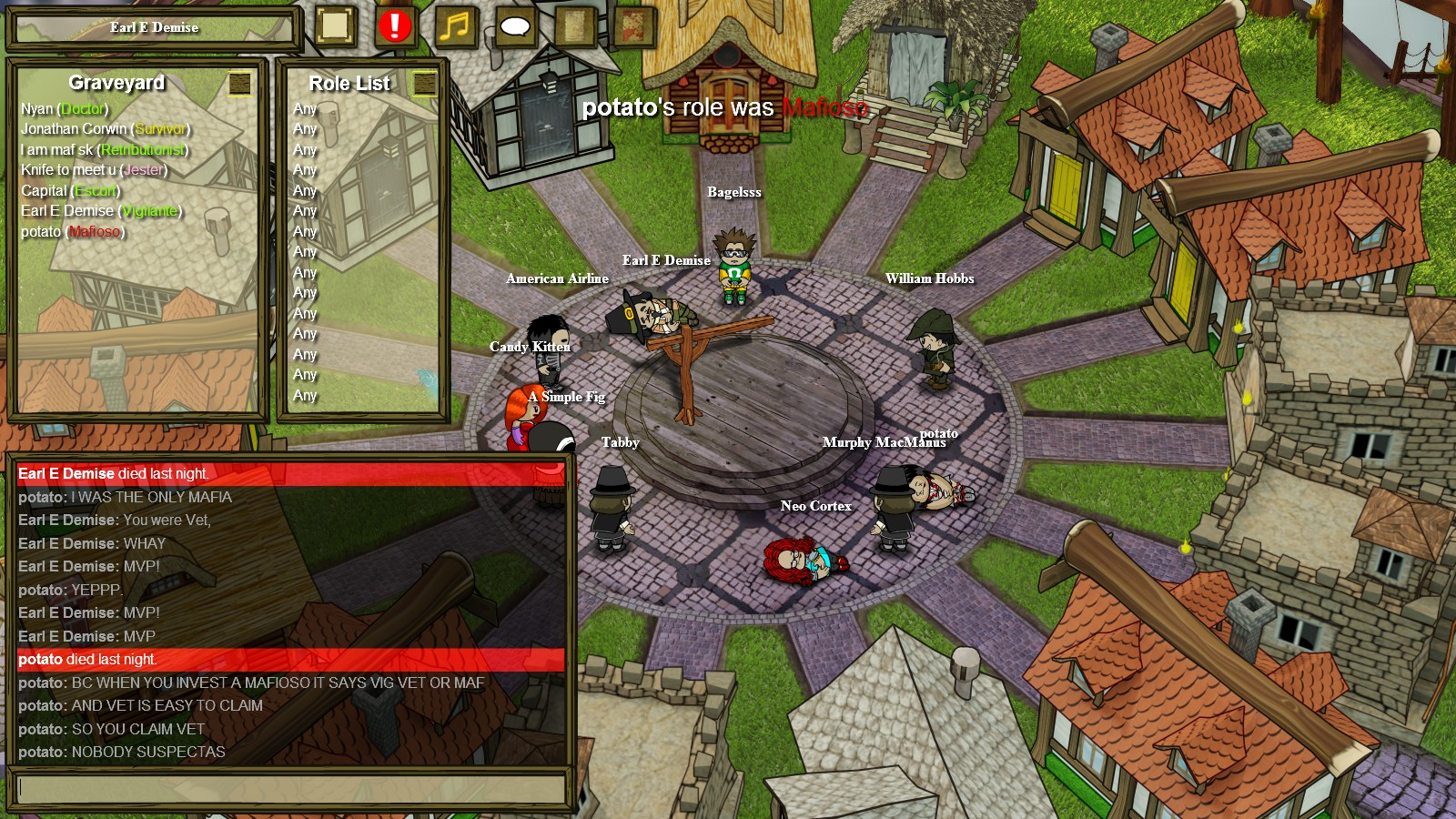 how to change town of salem name