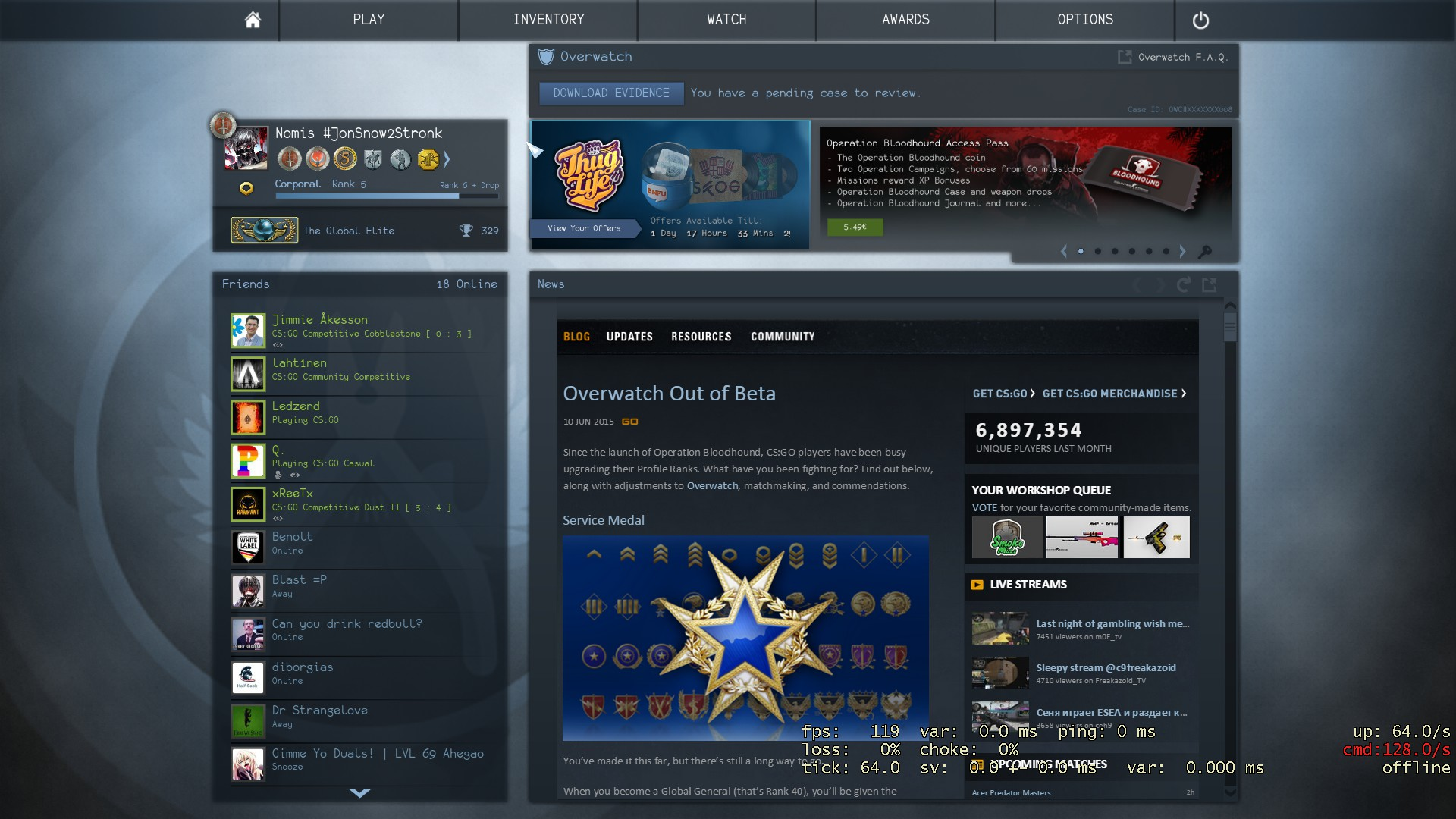 how to change matchmaking ping in cs go