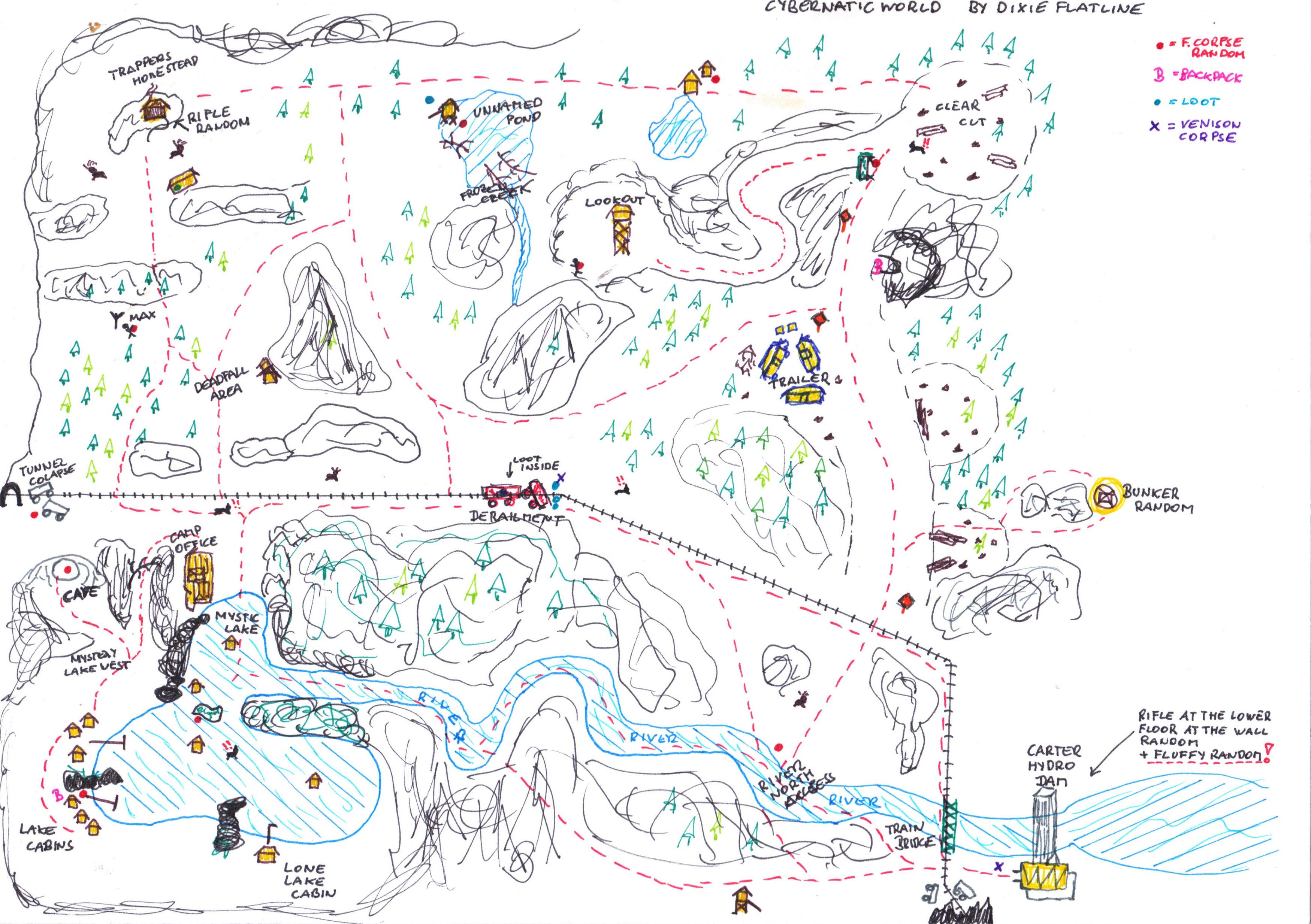the long dark karte Сообщество Steam :: :: The Long Dark MAP   KARTE