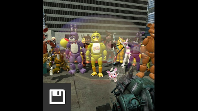 Steam Workshop :: New All Fnaf characters