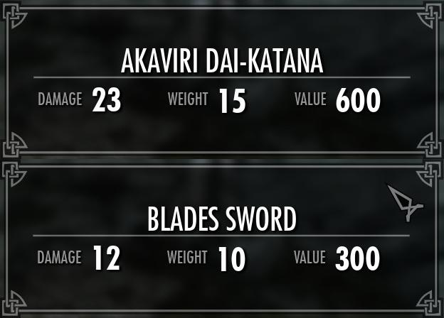 Steam Workshop :: Akaviri Dai-Katana --- Two-handed katana