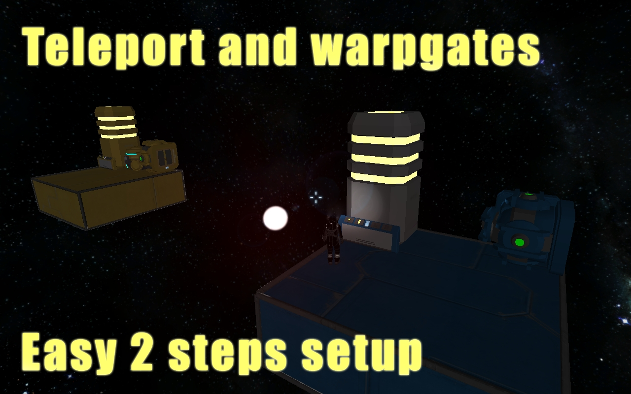 [01.116] Easy 2 steps Player and ship teleport