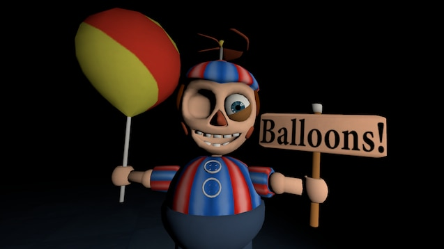 Steam Workshop :: fnaf 2 BB balloon boy animated