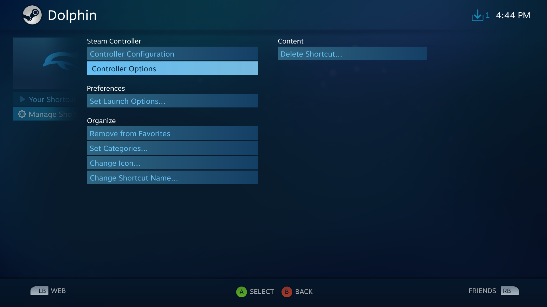 Steam Community :: Guide :: Dolphin Emulator with Steam controller!