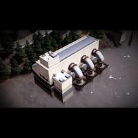 Large Water Pumping Station