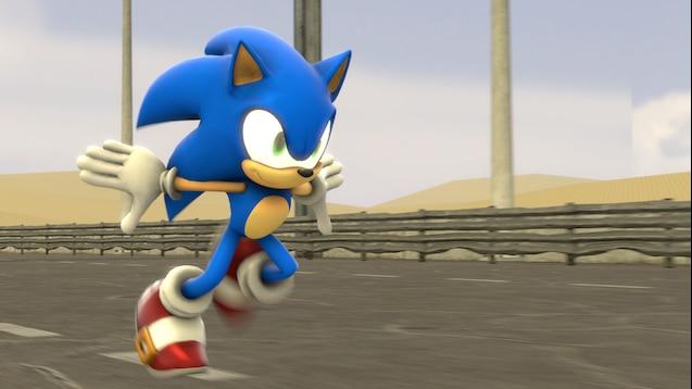 Steam Workshop Sonic Running Animation