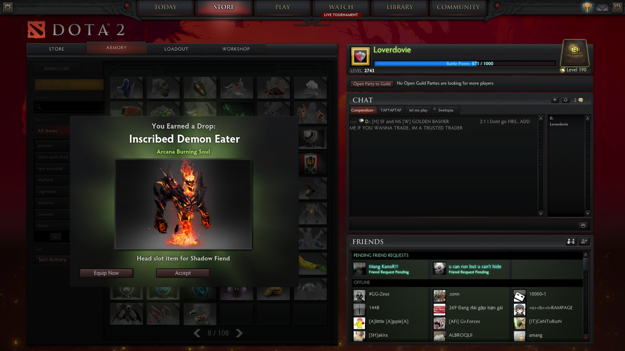 Steam Community :: Screenshot :: sf arcana from ti5 1000