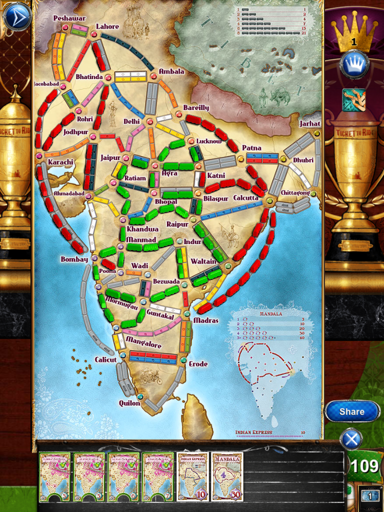 Ticket To Ride India Map.Steam Community Guide Ticket To Ride Achievements Guide