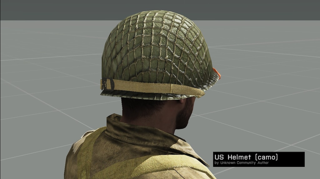 Steam Community :: Screenshot :: Back Chinstrap M1 Helmet