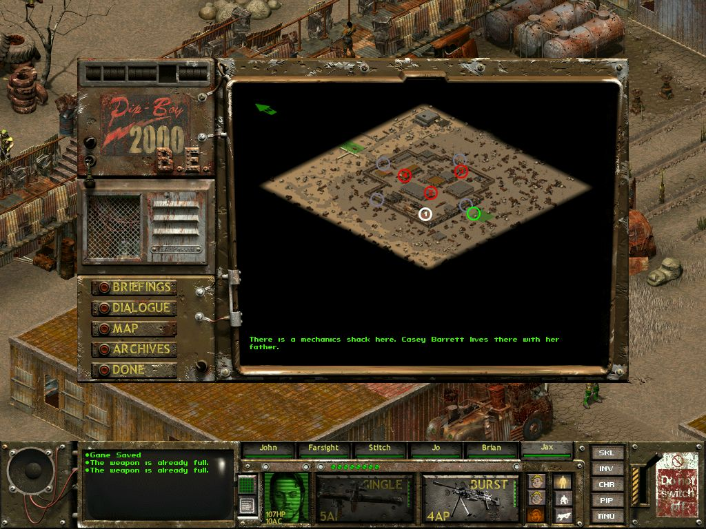 Steam Community Guide Fallout Tactics Beginner Mission Upsilon Circuit Is One Part Game Show Video And All Obtain Robot Parts Confront The Reavers Get Casy To Join Bosoptional