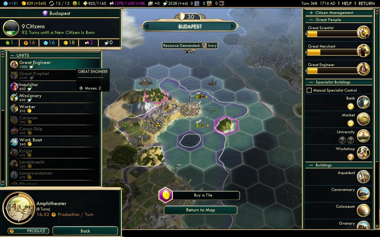 Civ  Can T Build Harbour