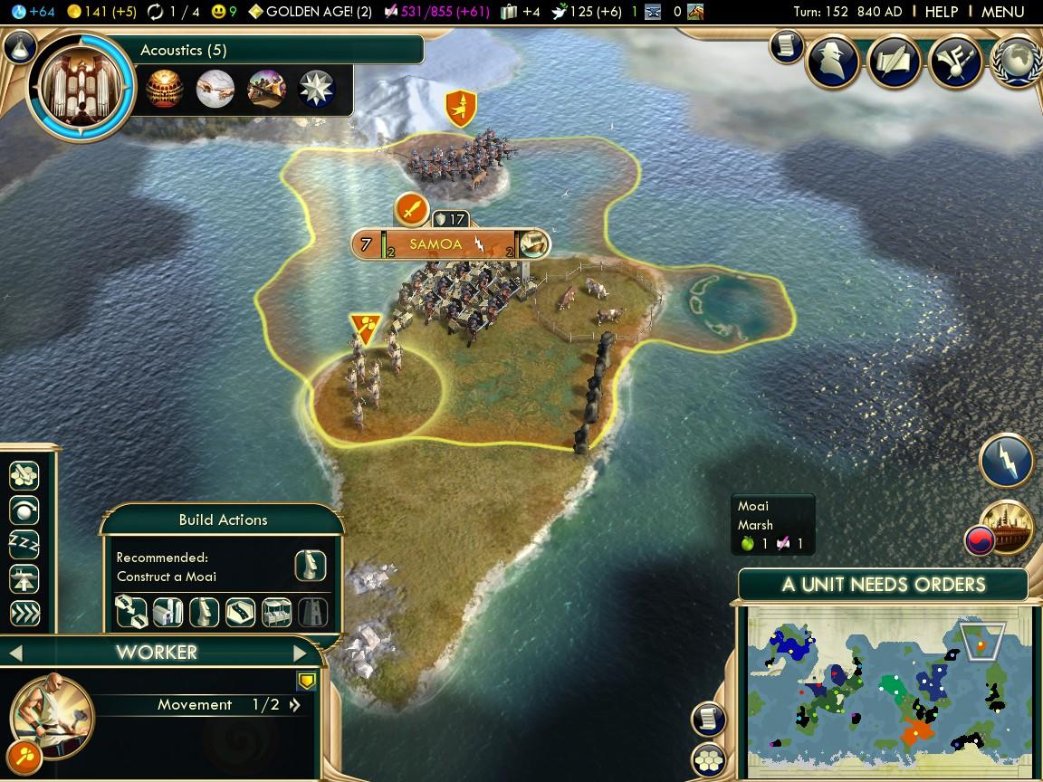 Civ  Best Island Civs